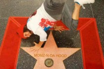 Hollywood Walk of Fame-this photo blew up Facebook