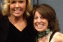 with Mary Murphy after QLShow appearance