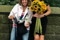 Barbara is the New York Kindness Ambassador for KINDLEIGH.  Pictured here with Kindleigh founder, Leigh Clark doing random acts of kindness on a hot summer day in Central Park NYC